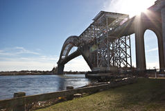 Ponte di Bayonne Fotografie Stock