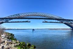 Ponte di Bayonne Fotografia Stock