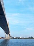 Ponte di Bhumibol Fotografia Stock