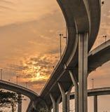Ponte di Bhumibol Immagini Stock