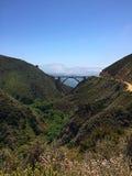 Ponte di Bixby, Big Sur California Immagine Stock