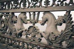 Ponte di Blagoveshchensky a St Petersburg Immagine Stock Libera da Diritti