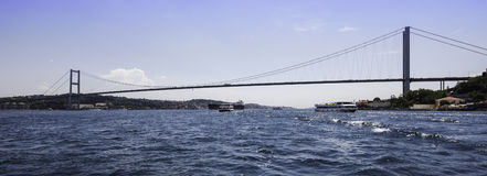Ponte di Bosphorus Fotografie Stock