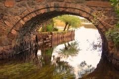 Ponte di Brickstone Fotografia Stock Libera da Diritti