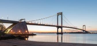 Ponte di Bronx Whitestone Fotografia Stock Libera da Diritti