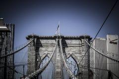Ponte di Brooklin Fotografia Stock Libera da Diritti