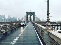 Ponte di Brooklin Fotografia Stock