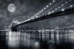 Ponte di Brooklyn Fotografie Stock