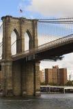Ponte di Brooklyn Immagini Stock Libere da Diritti