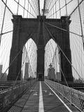 Ponte di Brooklyn Immagini Stock