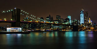Ponte di Brooklyn Fotografie Stock