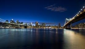 Ponte di Brooklyn Fotografia Stock