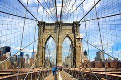 Ponte di Brooklyn Fotografia Stock Libera da Diritti