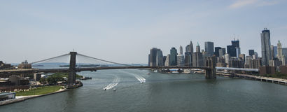 Ponte di Brooklyn di New York Immagine Stock
