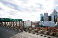 Ponte di Brooklyn di New York City Fotografie Stock Libere da Diritti