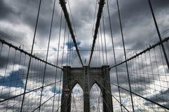 Ponte di Brooklyn di New York City Immagine Stock