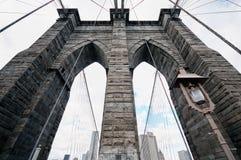 Ponte di Brooklyn di New York City Immagini Stock Libere da Diritti