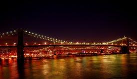 Ponte di Brooklyn New York Immagini Stock Libere da Diritti