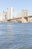 Ponte di Brooklyn a New York fotografia stock libera da diritti
