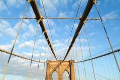 Ponte di Brooklyn, New York Immagini Stock
