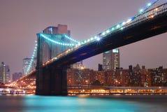 Ponte di Brooklyn, New York City Immagine Stock Libera da Diritti