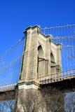 Ponte di Brooklyn, New York City immagini stock libere da diritti