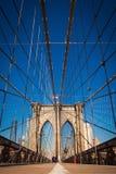 Ponte di Brooklyn, New York City Fotografia Stock