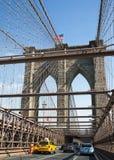 Ponte di Brooklyn, New York, S Fotografia Stock Libera da Diritti
