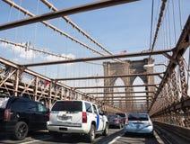 Ponte di Brooklyn, New York, S Fotografia Stock