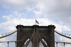 Ponte di Brooklyn, New York, Stati Uniti Immagini Stock
