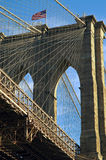Ponte di Brooklyn NYC Fotografia Stock