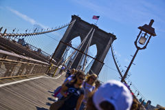 Ponte di Brooklyn - NYC Immagine Stock