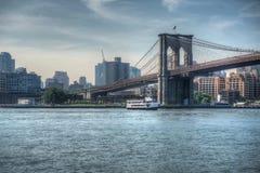 Ponte di Brooklyn NYC fotografia stock libera da diritti