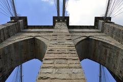 Ponte di Broooklyn Fotografie Stock