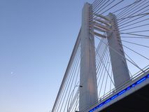 Ponte di Bucarest Basarab Immagini Stock