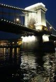 Ponte di Budapest Fotografia Stock Libera da Diritti