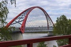 Ponte di Bugrinsky fotografia stock