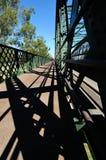 Ponte di Bundaberg su Burnett River a Fotografie Stock Libere da Diritti