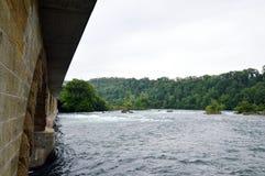 Ponte di caduta del Reno Immagini Stock Libere da Diritti