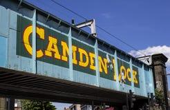 Ponte di Camden Lock Immagini Stock Libere da Diritti