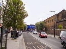 Ponte di Camden Lock Negozi alternativi famosi di una cultura Fotografia Stock Libera da Diritti