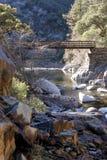Ponte di camminata Fotografie Stock