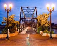Ponte di camminata Immagini Stock Libere da Diritti