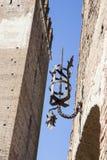Ponte di Castelvecchio in Verona Italy Fotografie Stock Libere da Diritti