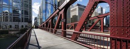 Ponte di Chicago, U.S.A. fotografia stock