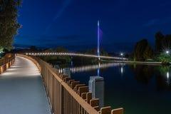 Ponte di Christchurch, leggente Berkshire Regno Unito fotografia stock