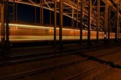 Ponte di Colonia, Germania Fotografia Stock
