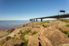 Ponte di confederazione Fotografia Stock Libera da Diritti