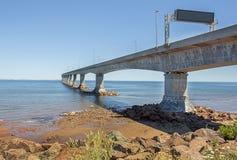 Ponte di confederazione, Nuovo Brunswick, Canada Immagini Stock Libere da Diritti