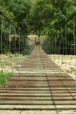 Ponte di corda. Immagini Stock Libere da Diritti